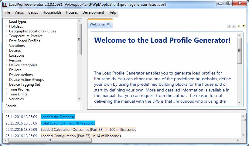LoadProfileGenerator